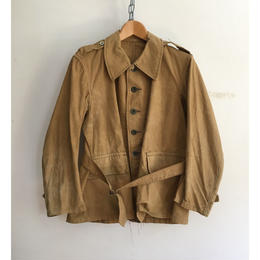 "30'〜40's French Military Issue ""Bougeron"" Jacket"