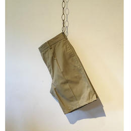 80's ITALY ARMY Chino Shorts        DEAD STOCK