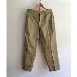 60's Dead Stock French Army Chino Trousers