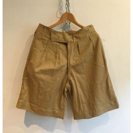 "80's Dead Stock  French ""Grukha Type"" Shorts No1"