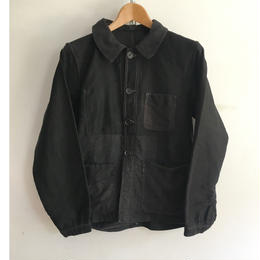 "30's〜40's ""Patched & Repaird"" Black Moleskin Coverall"