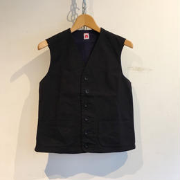 "OLD TOWN ""Straight Edge Waistcoat"" Engineer Stout Twill"