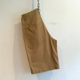 "OLD TOWN ""Plain Shorts"" KHAKI CANVAS"