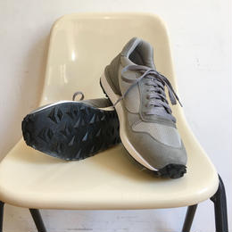 "VICTORY SPORTS WEAR ""Speed"" Light Grey Suede× Grey Mesh Made in USA"