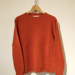 CARRIER COMPANY Lamb's Wool Sweater Rust