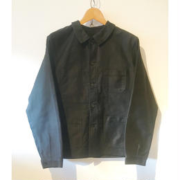 60's Black Mole Skin Work Jacket