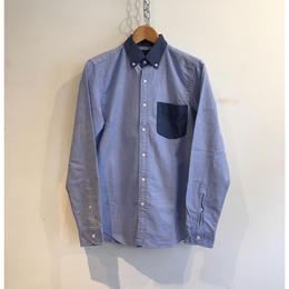 J.Crew  Switch Sewing Oxford B.D Shirt