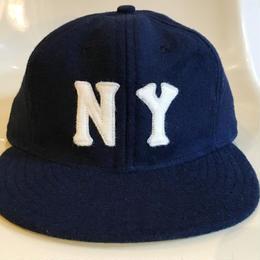 Ebbets Field Flannels NEW YORK BLACK YANKEES Base Ball Cap