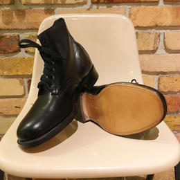 SANDERS Military Derby Boots 80's Dead Stock