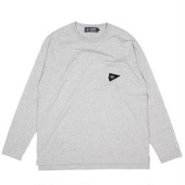 XLT-DIA GRAY(ポケット付きロングスリーブTシャツ)