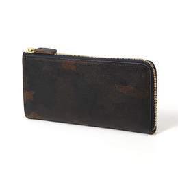 XWLT-TYPE-L-CAMO  L字型長財布 OLIVE