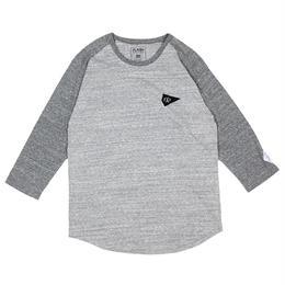 XRT-DIA  GRAY-CHARCOAL(ラグランスリーブTシャツ)