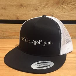 【F16S11】Sam Gpm logo 2color Cap(通常価格:6048円)