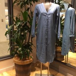 【Z17S01】Laughaha long denim shirt(通常価格:14,040円)
