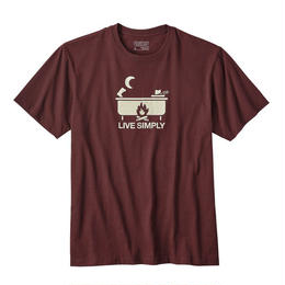 【39102】M's Live Simply Hot Tub Cotton/Poly Responsibili-Tee(通常価格:4104円)