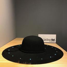【I17A04】S/H BFLINGE HAT(通常価格:12960円)