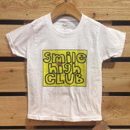 【H17S04】Smile High Club yellow logo T-shirts (通常価格:2592円)