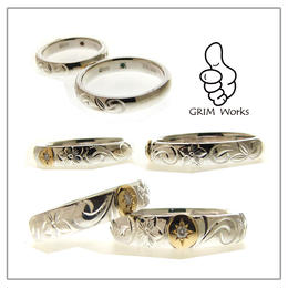 オリジナルデザイン・ハワイアンジュエリー結婚指輪 TO関東