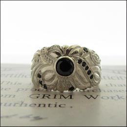GRIM Works~Meikyu Ring~  Silver925/BCZ