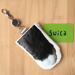 CAT PAW PASS CASE - Black & White