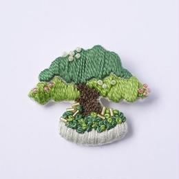 盆栽ブローチ キット