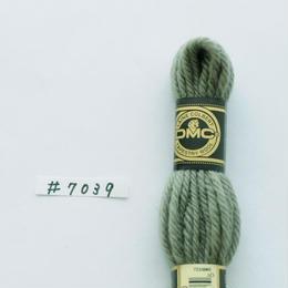 ウール糸(グリーン系)