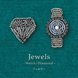 《Jewelry》 オトナのビーズ刺繍ブローチmore キット[MON PARURE]