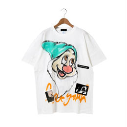 Hand Painted T-sh / White / No.9