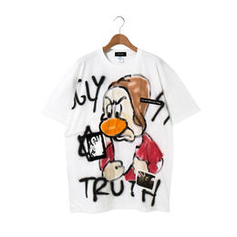 Hand Painted T-sh / White / No.7