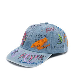 Hand Painted Cap / No.7