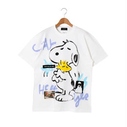 Hand Painted T-sh / White / No.4