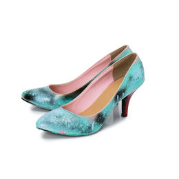 Hand Painted Pumps / 38 / No.1