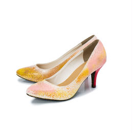 Hand Painted Pumps / 39 / No.2