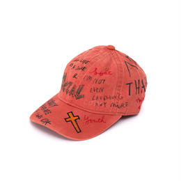 Hand Painted Cap / No.2