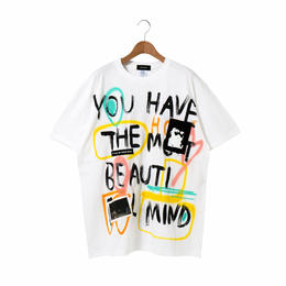 Hand Painted T-sh / White / No.6