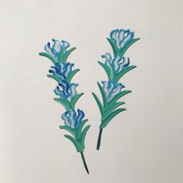 【オチアイハルカ】植物のポスターの受注販売  no.12