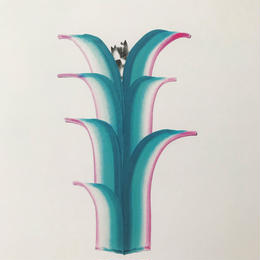 【オチアイハルカ】植物のポスターの受注販売  no.7