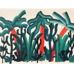 【オチアイハルカ】植物のポスターの受注販売  no.25