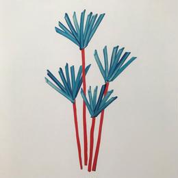【オチアイハルカ】植物のポスターの受注販売  no.6