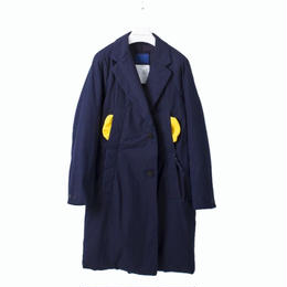 DOCUMENT - INDIGO PADDED COAT