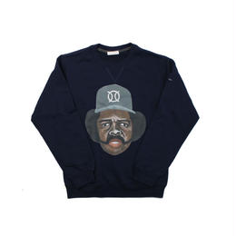 ball park  sweat FRONT -NAVY  (TAMANIWA ×SHUNTARO TAKEUCHI)