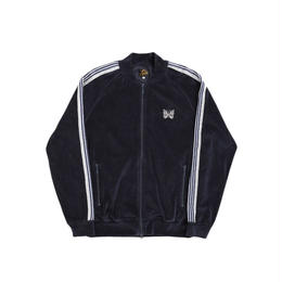 Needles RIB COLLAR TRACK JACKET  C/PE VELOUR - M size
