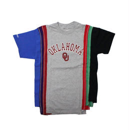 Rebuild by Needles (リビルドバイニードルズ) 7 Cut Tee College GREY ⑦  - size M