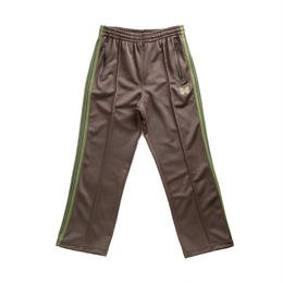 Needles TRACK PANT - POLY SMOOTH BROWN