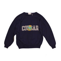 COPY CAT   -  OLD LONG SLEEVE SWAET COUGAR NAVY - size ASORT