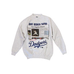 Los Angeles Dodgers #16 HIDEO NOMO used long sleeve sweat ④ - size M