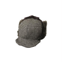 INFIELDER DESIGN     CHECK PETER CAP - BROWN