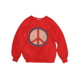 COPY CAT   -  OLD LONG SLEEVE SWAET RED - size ASORT