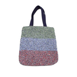 INFIELDER DESIGN    SINGLE CROCHET CHECK BAG