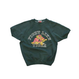 COPY CAT   -  OLD LONG SLEEVE SWAET FIGHT LIKE TIGER GREEN  - size ASORT